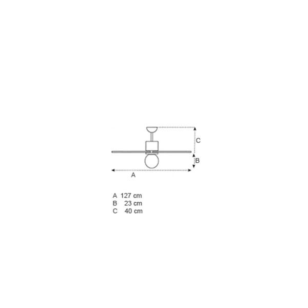 Ανεμιστήρας οροφής | CASABLANCA ECO - Σχέδιο - Ανεμιστήρας οροφής | CASABLANCA ECO