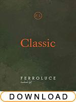 Ferroluce lighting catalogue Classic