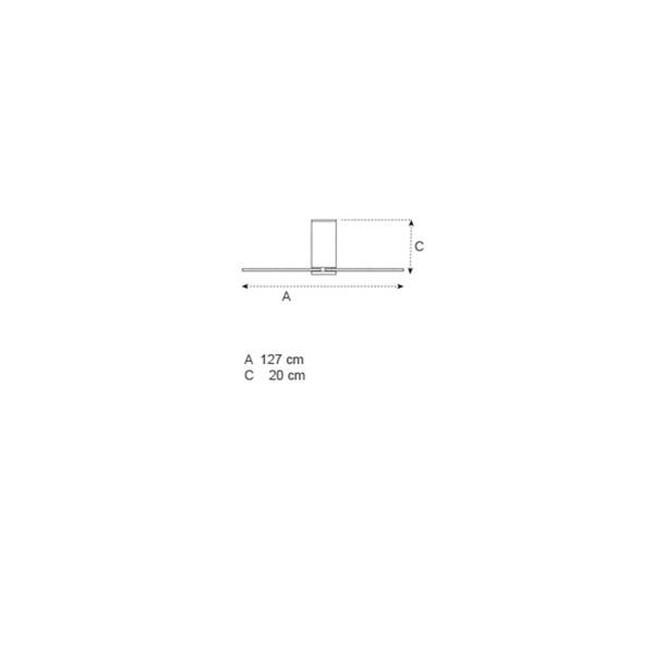 Ανεμιστήρας οροφής χωρίς φως λευκός | FLAT - Σχέδιο - Ανεμιστήρας οροφής χωρίς φως λευκός | FLAT