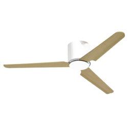 Ανεμιστήρας οροφής χωρίς φως λευκός FLAT no-light white ceiling fan