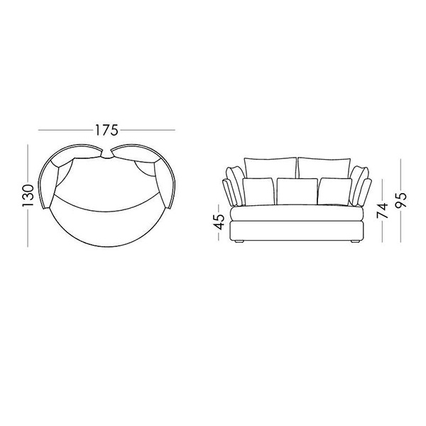 Special piece loveseat | MY APPLE - Drawing - Special piece loveseat | MY APPLE