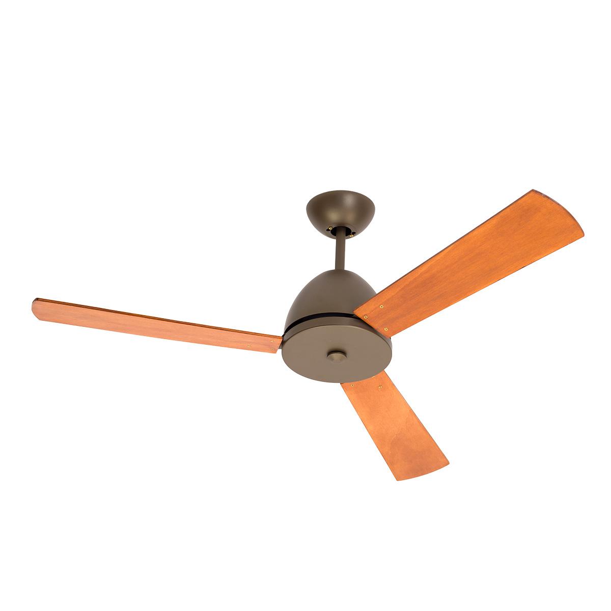 Ανεμιστήρας σε χρώμα σκουριά χωρίς φως SCIROCCO rusty ceiling fan with no lights