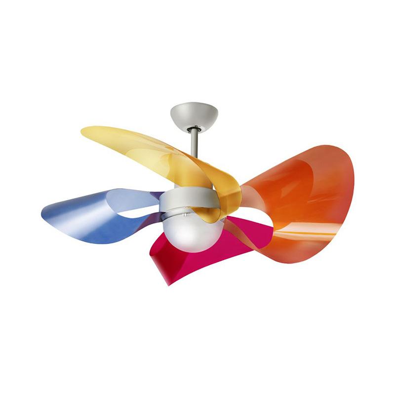 Ανεμιστήρας οροφής χρωματιστός SOFFIO LED ceiling fan colored