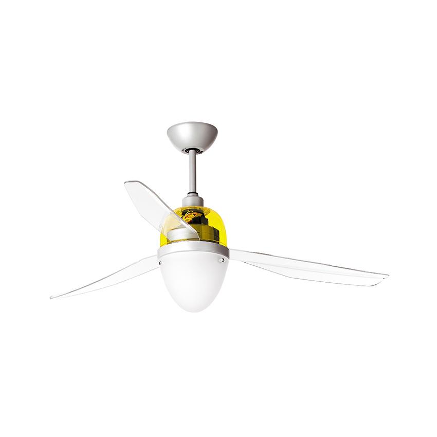 Ανεμιστήρας οροφής κίτρινος SWING LED ceiling fan yellow