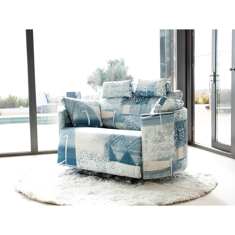 Aνακλυνόμενη μεγάλη πολυθρόνα ΜΟΟNRISE-XL recliner big armchair