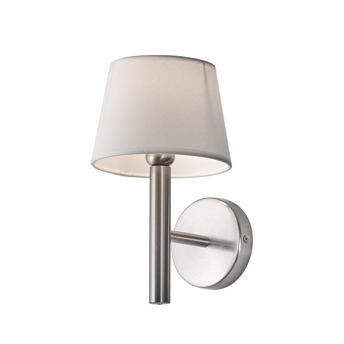 Inox απλίκα με καπέλο ΙΟΝΙΟ inox wall lamp