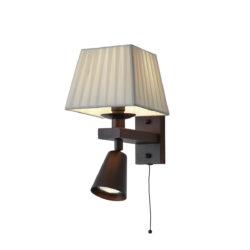 Δίφωτη απλίκα ρουστίκ SMART-CAFE rustic 2-bulb wall lamp