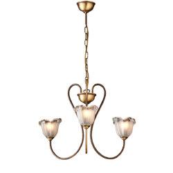 Κλασικό φωτιστικό με κρύσταλλα Μουράνο ΝΑΞΟΣ-1 classic chandelier with Murano crystals