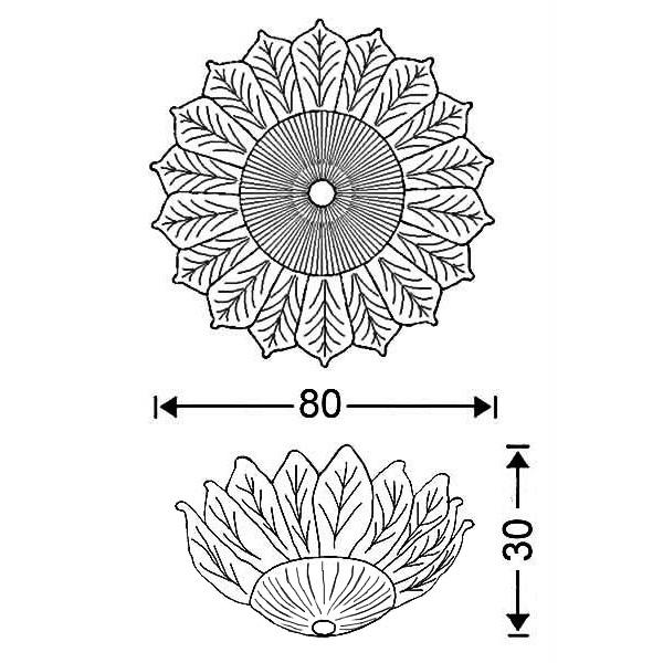 Κλασικό φωτιστικό με κρυστάλλινα φύλλα | ΗΛΙΟΣ - Σχέδιο - Κλασικό φωτιστικό με κρυστάλλινα φύλλα | ΗΛΙΟΣ
