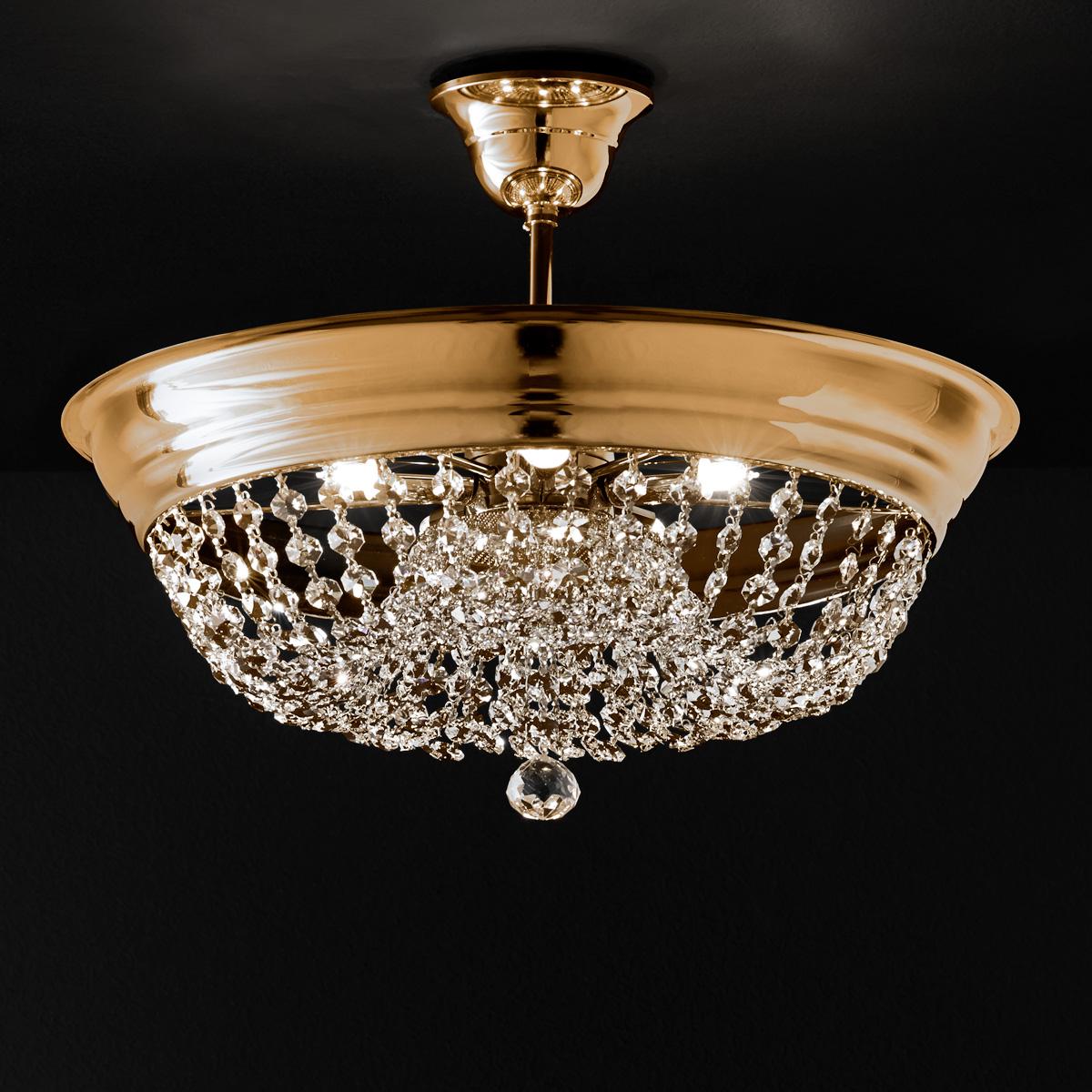 Φωτιστικό οροφής με κρυσταλλάκια ΑΡΤΕΜΙΣ crystal ceiling lighting