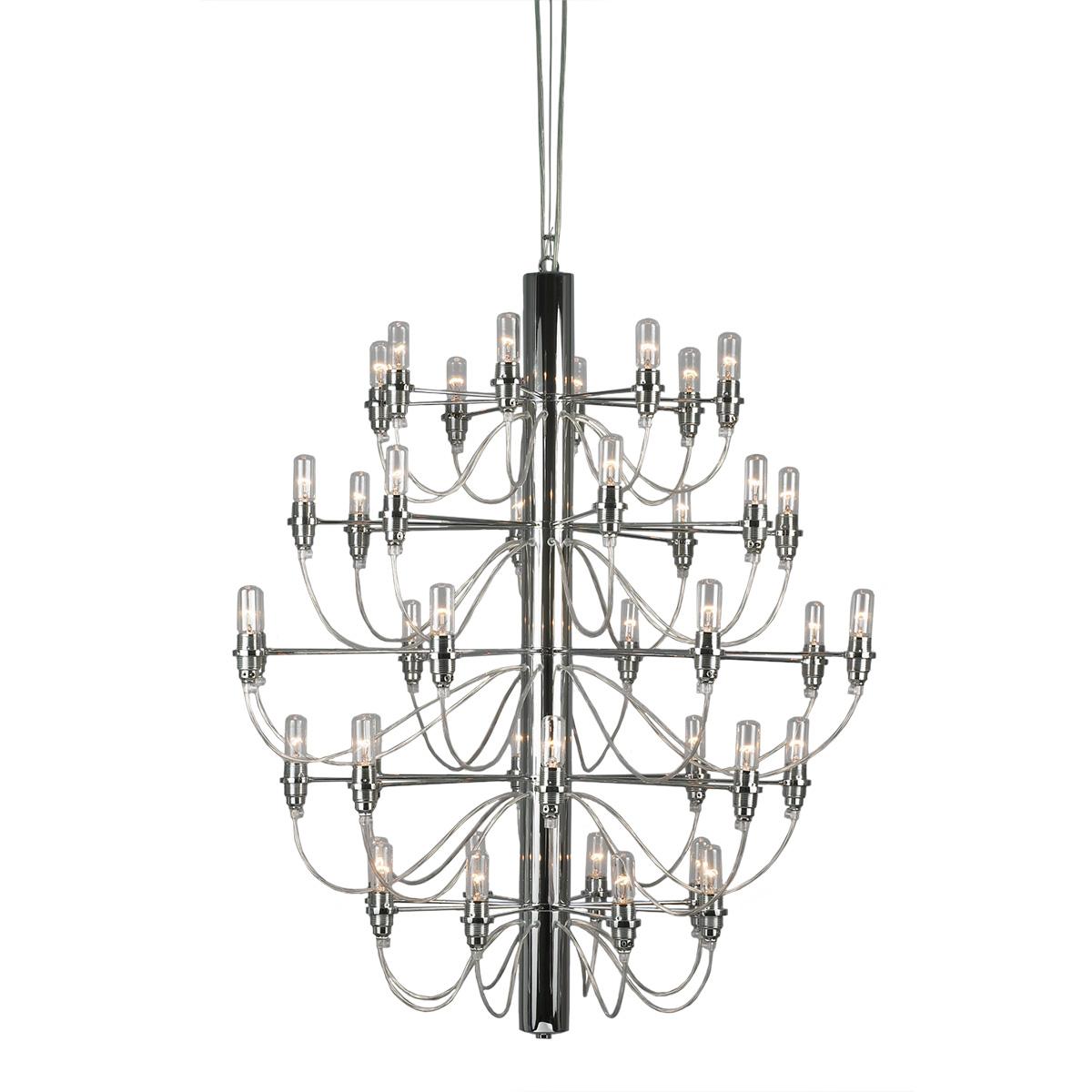 Μοντέρνο 40φωτο φωτιστικό ΑΚΤΙΝΕΣ modern 40-bulb chandelier