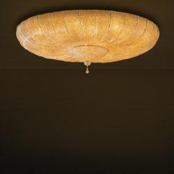 Φωτιστικό οροφής με φύλλα Μουράνο CASTELLO classic ceiling lamp with Murano crystal leaves