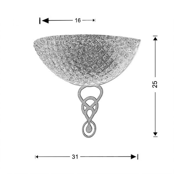 Φωτιστικό Μουράνο | ΚΟΡΩΝΑ - Σχέδιο - Φωτιστικό Μουράνο | ΚΟΡΩΝΑ