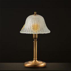 Επιτραπέζιο φωτιστικό Μουράνο ΦΥΛΛΟ classic Murano table lamp
