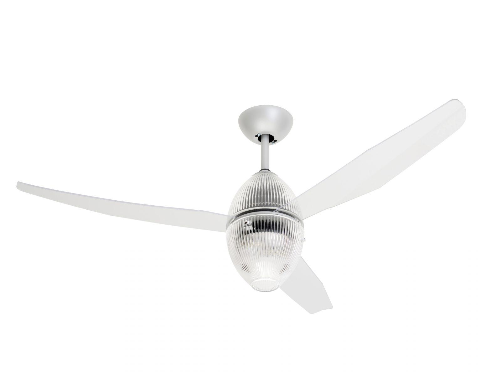 Ανεμιστήρας οροφής με διάφανα γυαλιά EOS ECO ceiling fan with transparent glass frame