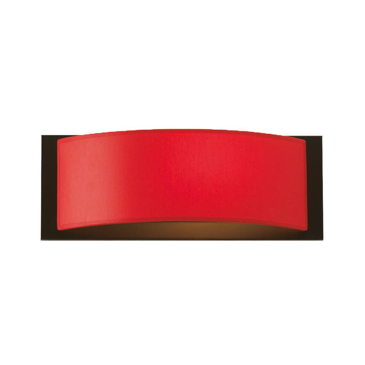 Απλίκα με κόκκινο καπέλο DISCO ZEN wall lamp with red shade
