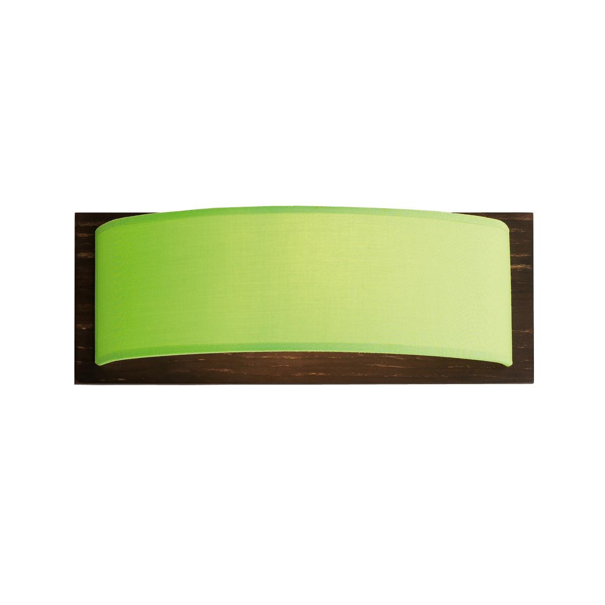 Απλίκα με πράσινο καπέλο DISCO ZEN wall lamp with green shade