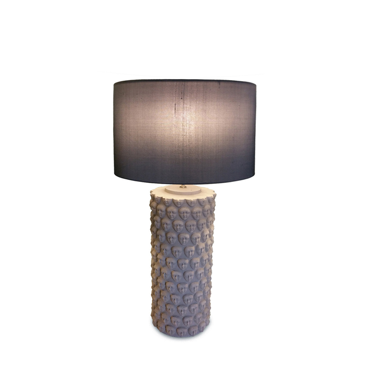 Επιτραπέζια κεραμική λάμπα FACES ceramic table lamp