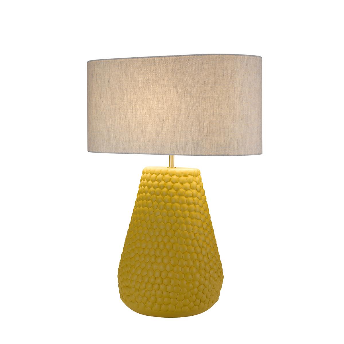 Επιτραπέζια κεραμική λάμπα PAPAYA ceramic table lamp