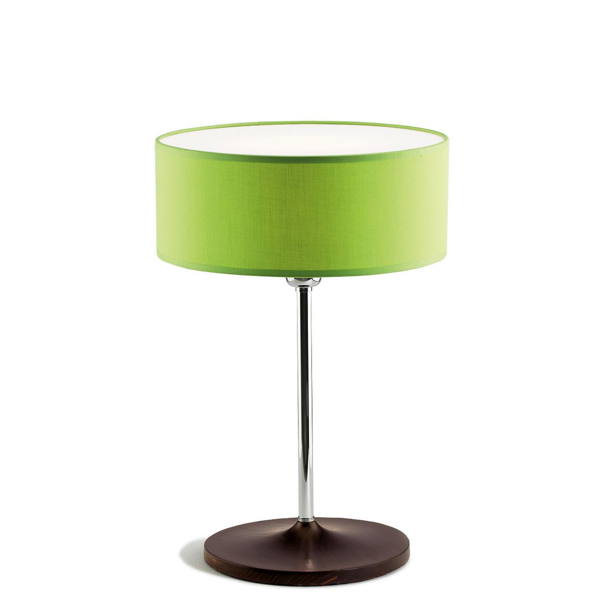 Επιτραπέζια λάμπα με πράσινο καπέλο DISCO ZEN green shade table lamp