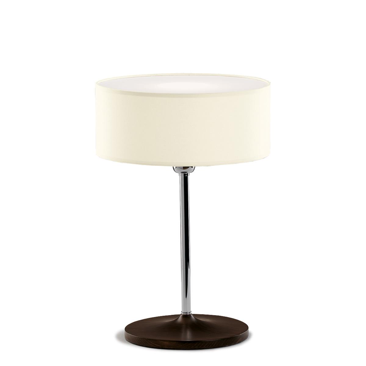 Επιτραπέζια λάμπα με μπεζ καπέλο DISCO ZEN beige shade table lamp