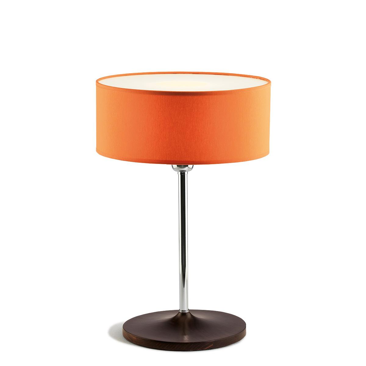 Επιτραπέζια λάμπα με πορτοκαλί καπέλο DISCO ZEN orange shade table lamp