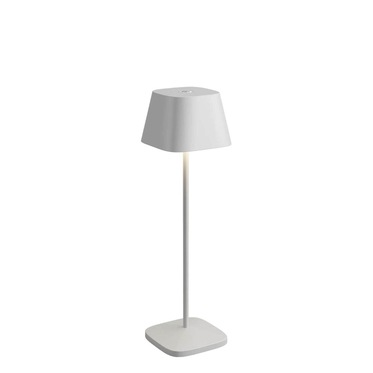 Λευκό επιτραπέζιο φωτιστικό μπαταρίας LA NUIT outdoor – indoor table lamp