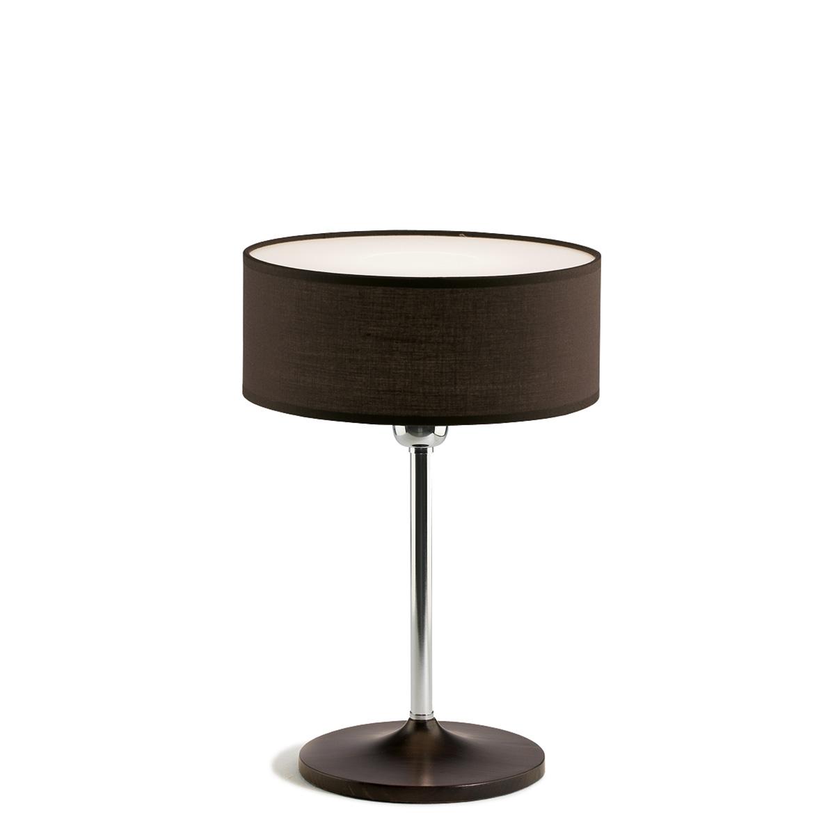 Επιτραπέζιο φωτιστικό με ανθρακί καπέλο DISCO ZEN table lamp with dark grey shade
