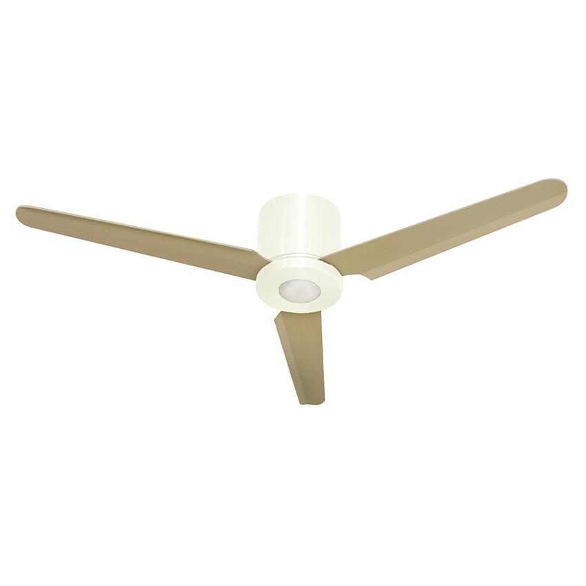 Ανεμιστήρας οροφής λευκός FLAT LED ceiling fan white