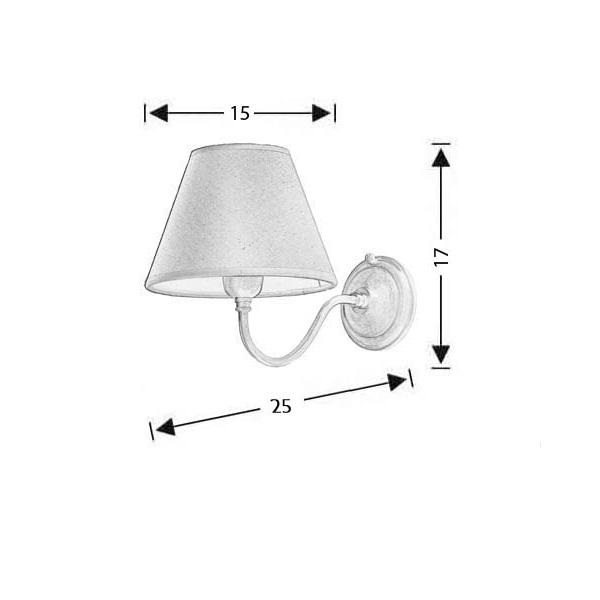 Φωτιστικό τοίχου με καπέλο | ΓΥΘΕΙΟ - Σχέδιο - Φωτιστικό τοίχου με καπέλο | ΓΥΘΕΙΟ