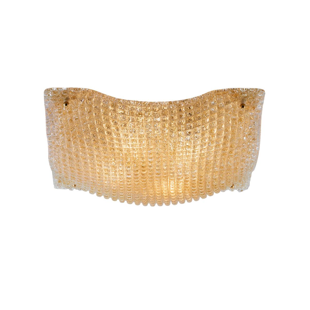 Κλασικό φωτιστικό οροφής μελί ΜΑΝΤΗΛΙ classic amber ceiling lamp