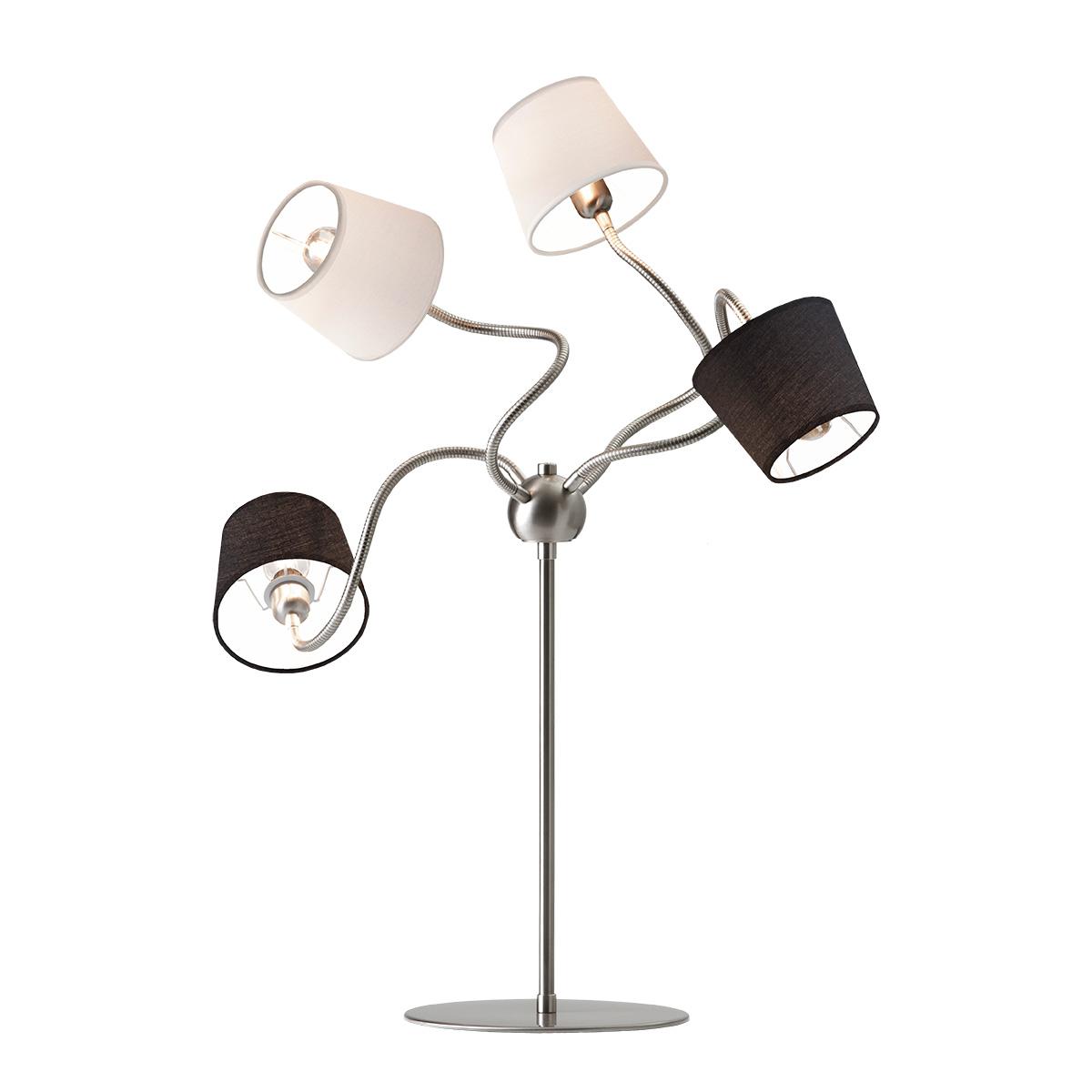 Μοντέρνα λάμπα αφής με καπέλα FLEX modern touch lamp with shades