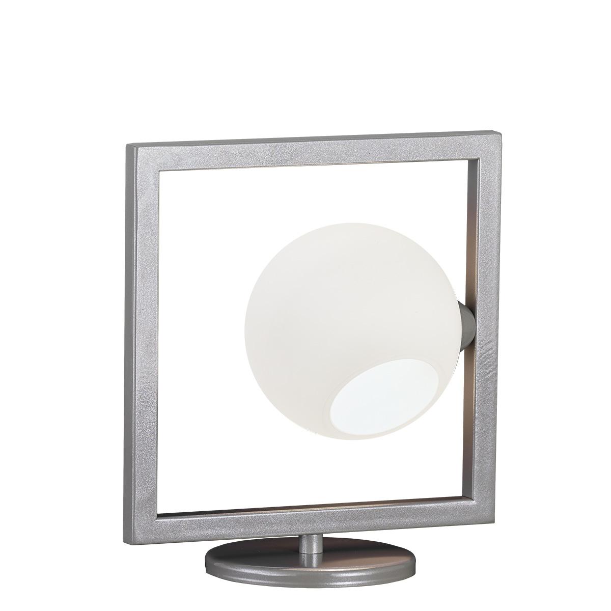 Μοντέρνο πορτατίφ Μουράνο ΜΠΑΛΕΣ modern table lamp with Murano glass