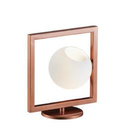 Μοντέρνο επιτραπέζιο φωτιστικό ΜΠΑΛΕΣ table lamp with Murano glass