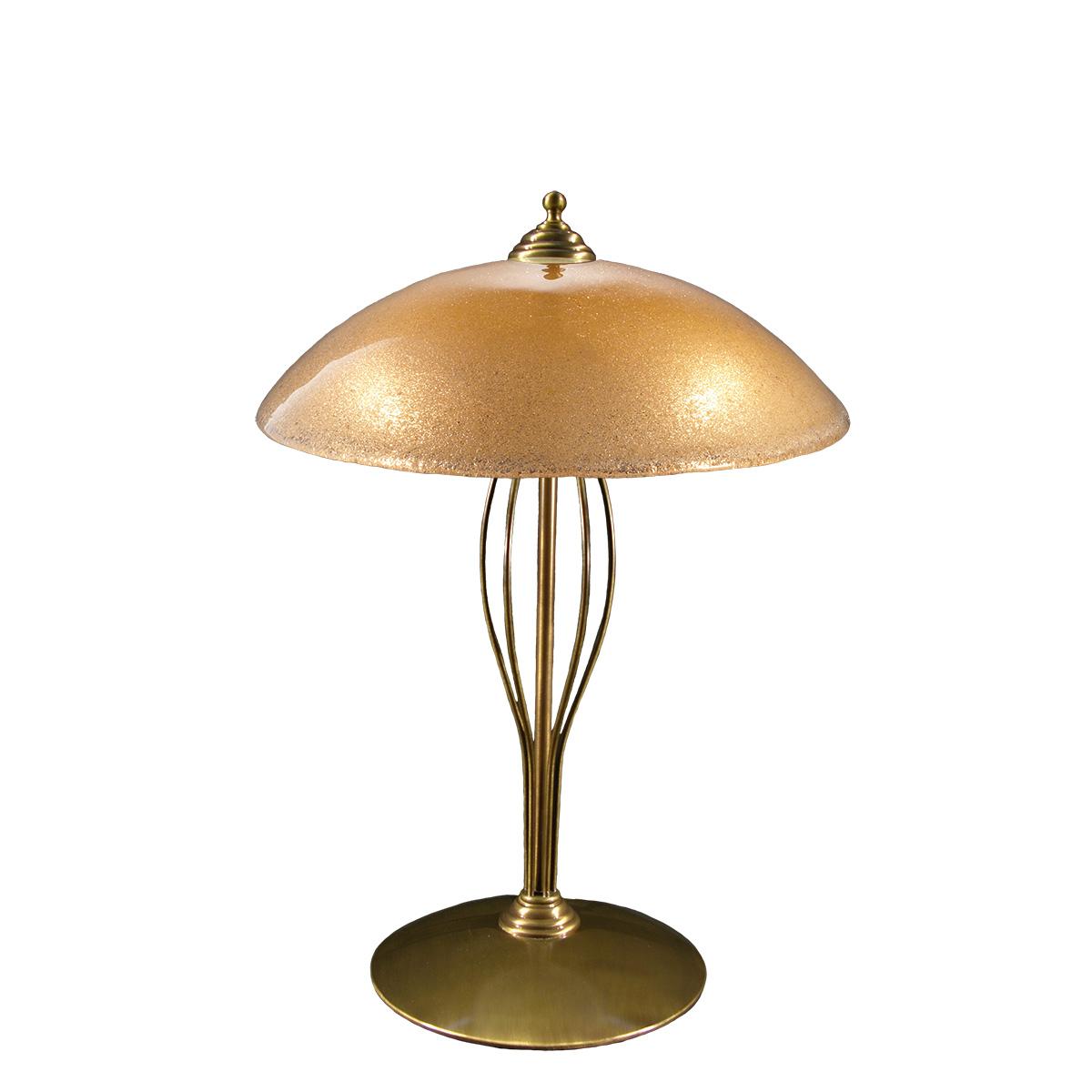 Επιτραπέζια λάμπα με κρύσταλλo Murano ΝΥΜΦΑΙΟ classic table lamp with Murano crystal