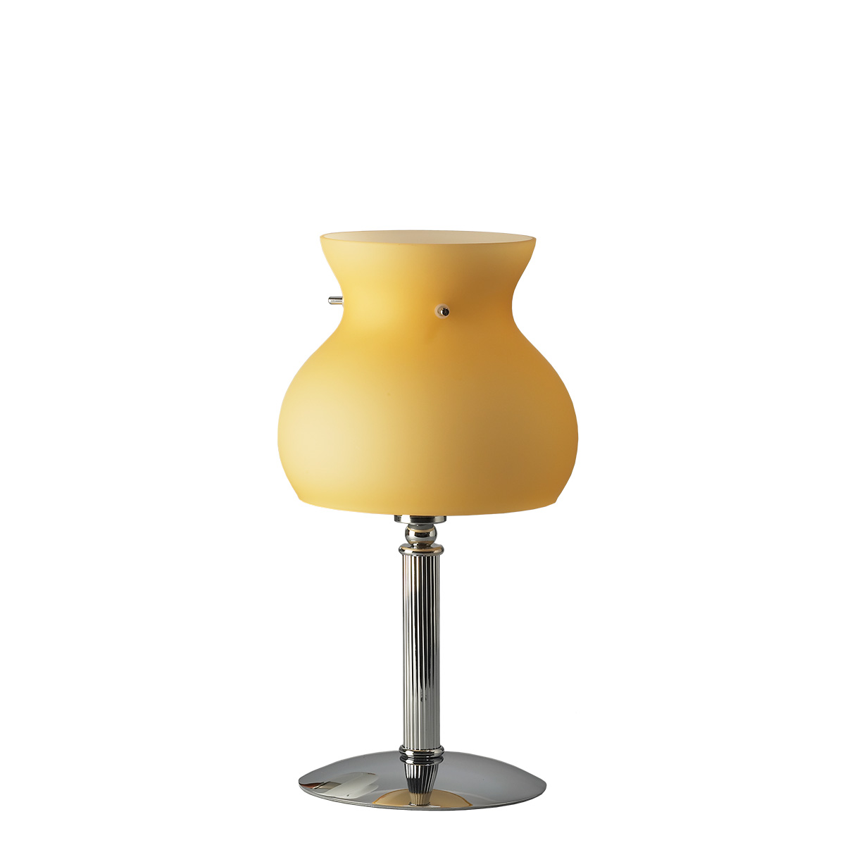 Πορτατίφ Μουράνο μελί GLOBO murano amber table lamp