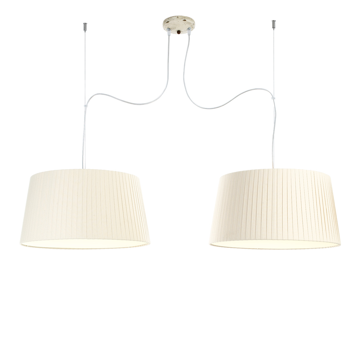 Δίφωτο φωτιστικό TURN RUSTICO hanging lamp