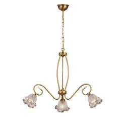 Κλασικό μπρούτζινο φωτιστικό ΒΙΚΟΣ classic brass light fixture