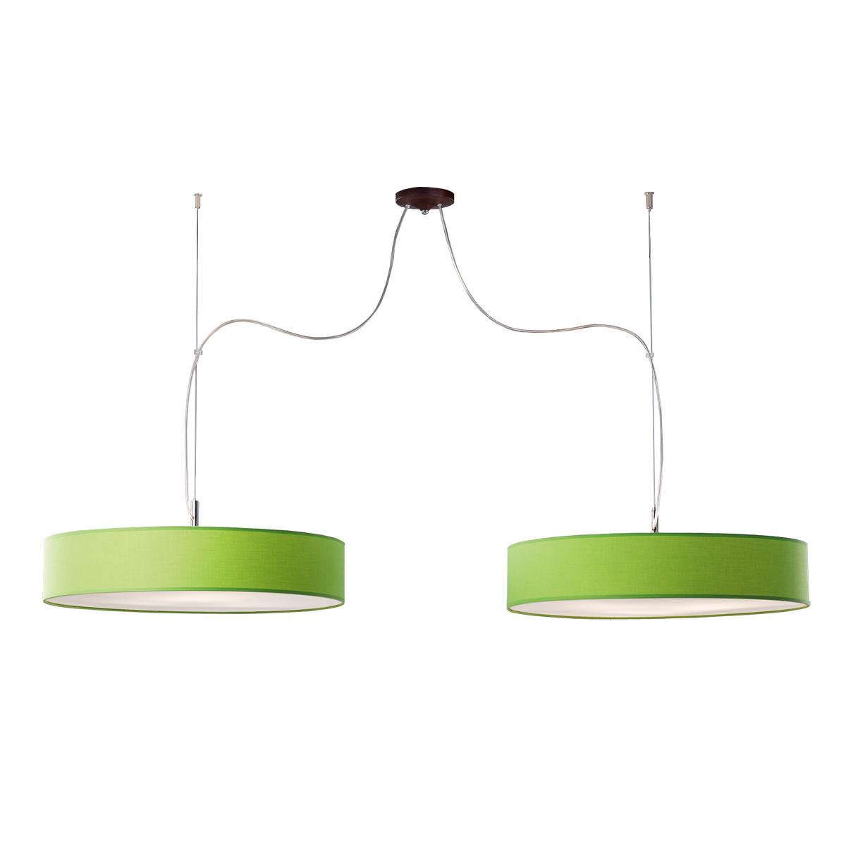 Δίφωτο πράσινο κρεμαστό φωτιστικό DISCO ZEN green hanging lamp