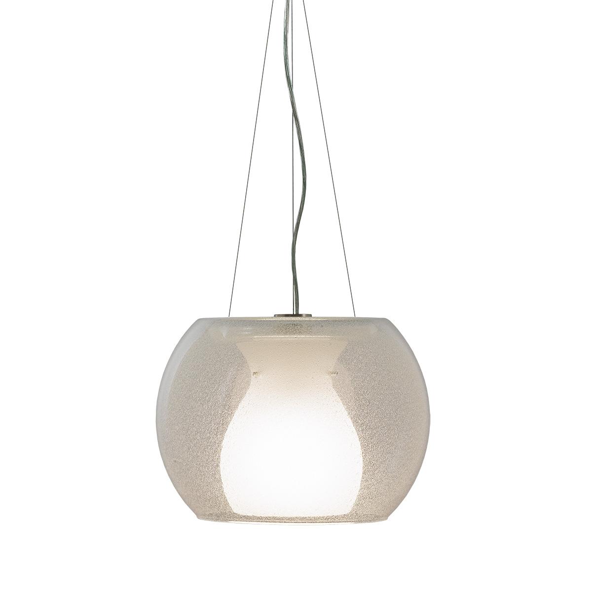 Μοντέρνο μονόφωτο Μουράνο NEVE modern Murano suspension lamp