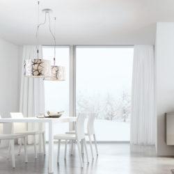Υφασμάτινα κρεμαστά φωτιστικά DISK II fabric suspension lamps