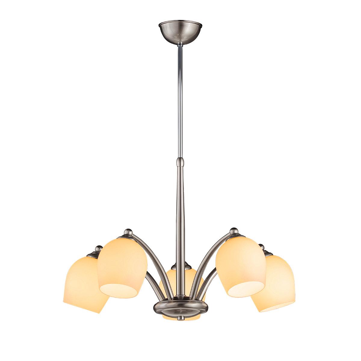Φωτιστικό 5φωτο Μουράνο SWING 5-bulb chandelier