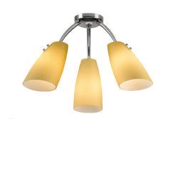 Φωτιστικό οροφής Μουράνο DONNA chandelier with Murano glasses