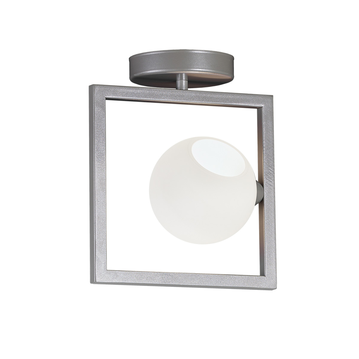 Φωτιστικό οροφής με μπάλα ΜΠΑΛΕΣ ceiling lamp with Murano glass