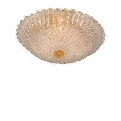 Πλαφονιέρα από κρύσταλλο Μουράνο ΚΡΥΣΤΑΛΛΟ ΧΡΥΣΟ classic Murano crystal ceiling lamp