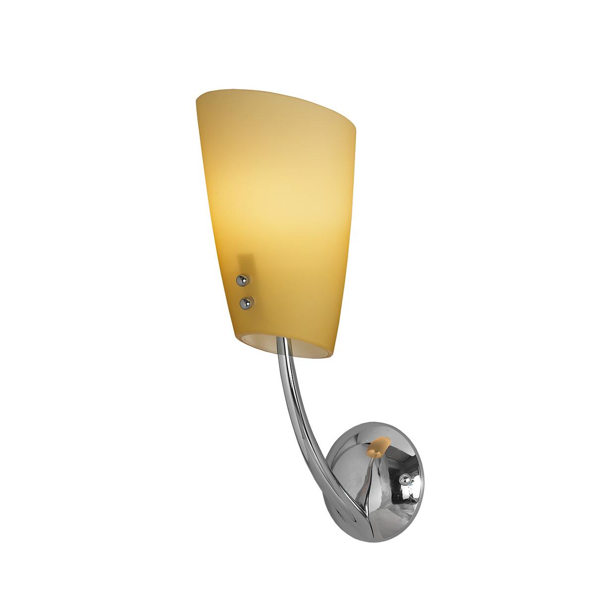 Μοντέρνα απλίκα Μουράνο DONNA modern Murano wall lamp