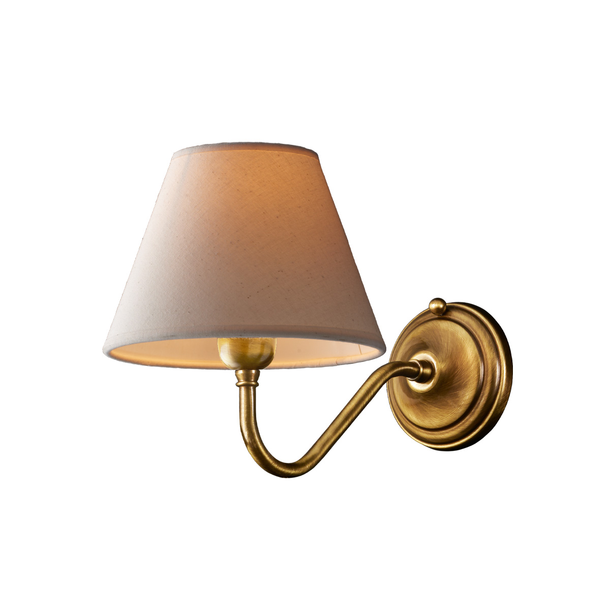 Φωτιστικό τοίχου με καπέλο ΓΥΘΕΙΟ classic wall lamp with shade