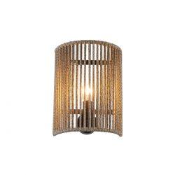 Χειροποίητη απλίκα μισή KELLY half round wall lamp