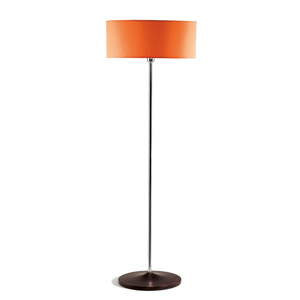 Φωτιστικό δαπέδου με πορτοκαλί καπέλο DISCO ZEN floor lamp with orange shade
