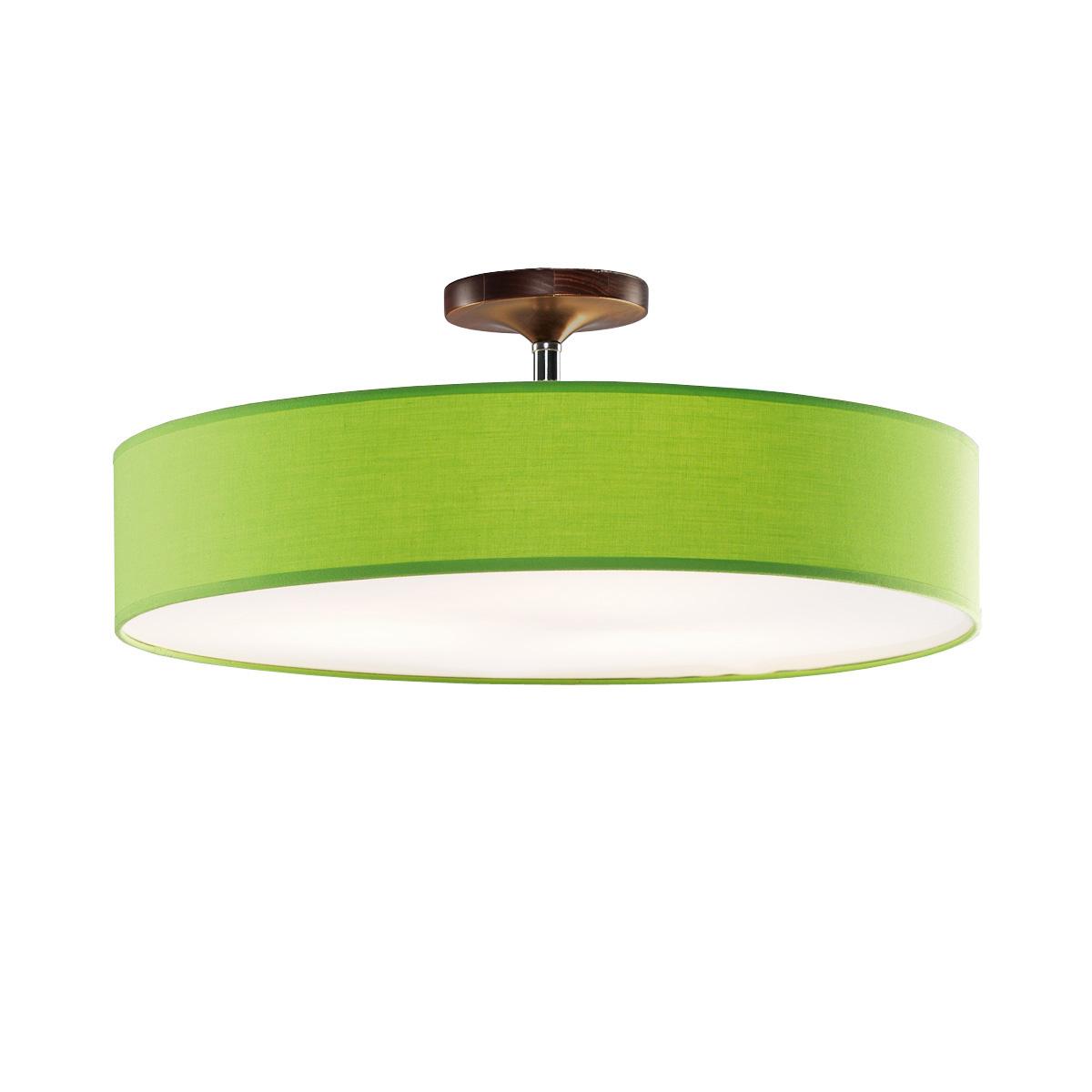 Φωτιστικό ημιοροφής με πράσινο καπέλο DISCO ZEN ceiling lamp with green shade